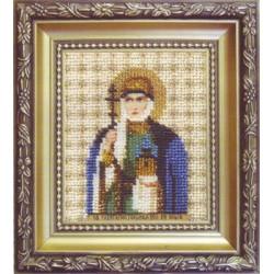 Икона равноапостальной великой княгини Ольги , набор д/выш. Чарiвна Мить