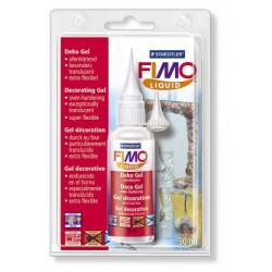 Жидкая пластика гель FIMO liquid, запекаемый в духовке, прозрачный, 50 мл бутылка