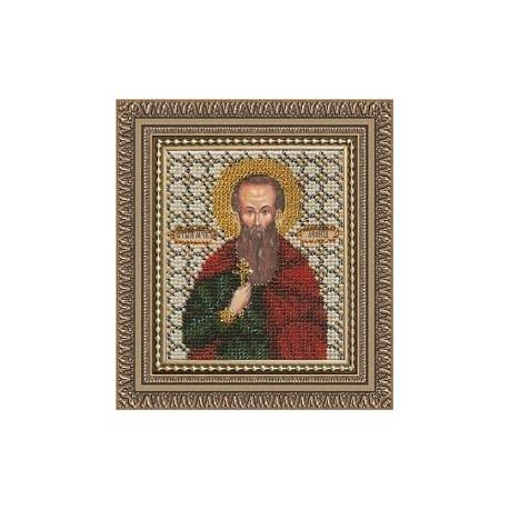 Икона Св.мч. Леонид, набор д/выш. Чарiвна Мить
