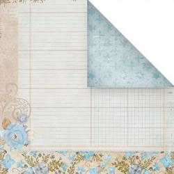 Цветочный, бумага для скрапбукинга 30.5x30.5 см, Mr.Painter