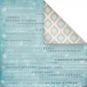 Зимушка, бумага для скрапбукинга 30.5x30.5 см, Mr.Painter