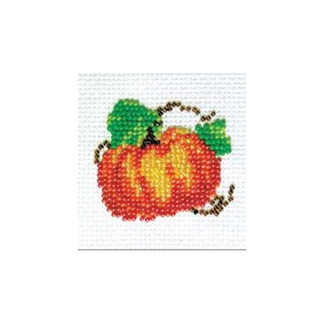 Тыковка, набор для вышивания бисером, 6х5см, 6цветов Кларт