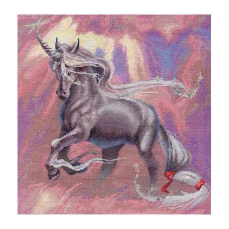 Легенда, набор для вышивания крестиком, 34х34см, 36цветов Panna