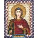 Ирина, набор для вышивания бисером 9х11см 14цветов Panna