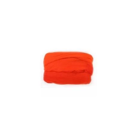 Красная, 100% Шерсть для валяния РТО (50гр±5гр)
