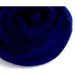 Темно-синяя, 100% Шерсть для валяния РТО (50г±5гр)