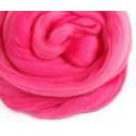 Розовая, 100% Шерсть для валяния РТО (50гр±5гр)