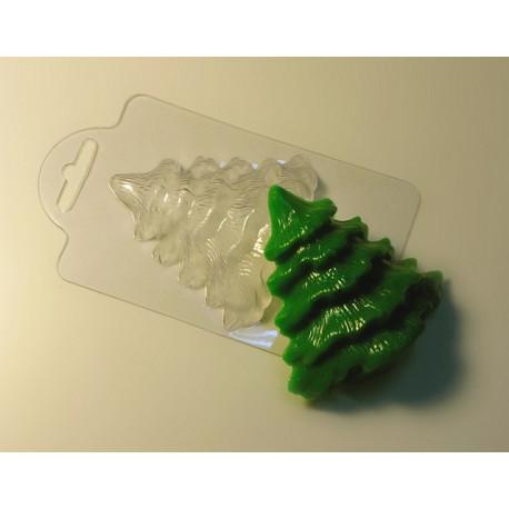 Ёлочка , пластиковая форма для мыла
