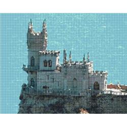 Ласточкино гнездо, набор для изготовления мозаичной  картины, 40х50см. Anya
