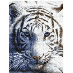 Тигриный взгляд, набор для изготовления мозаичной  картины, 30х40см. Anya