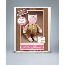 Кот Антуан, набор для шитья игрушки. Модное Хобби