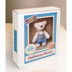 Медвежонок Фанечка, набор для шитья игрушки. Модное Хобби