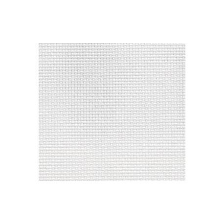 Канва Aida №18, 100% хлопок, 50х50 cм, белый