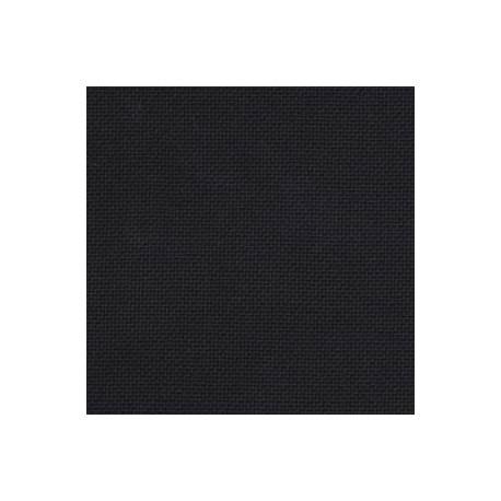 Канва Linda №27, 100% хлопок, 50х50 cм, черный