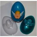 Яйцо/Ангел, пластиковая форма для мыла XD