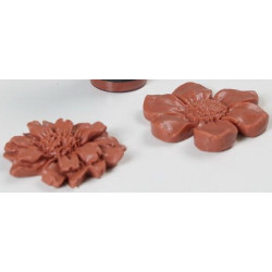 Коричневый, пастообразный краситель для мыльной основы 15мл