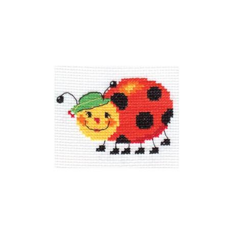 Я бегу!, набор для вышивания крестиком, 8х8см, 6цветов Алиса