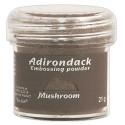 Пудра для эмбоссинга Adirondack (полуматовая), 30 мл, цвет серый грибной, Ranger