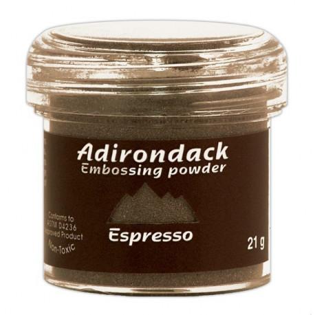 Пудра для эмбоссинга Adirondack (полуматовая), 30 мл, цвет эспрессо. Ranger