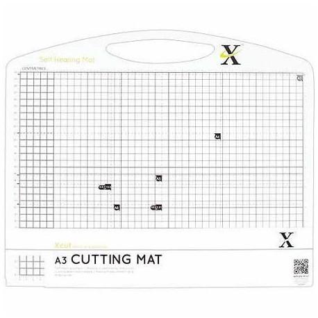 Мат для скрапбукинга двусторонний А3 черно-белый, XCUT