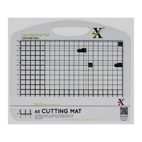 Мат для скрапбукинга двусторонний A5 черно-белый, XCUT