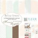 Наша свадьба, набор бумаги для скрапбукинга 30,5х30,5см, 12 двусторонних листов Fleur Design