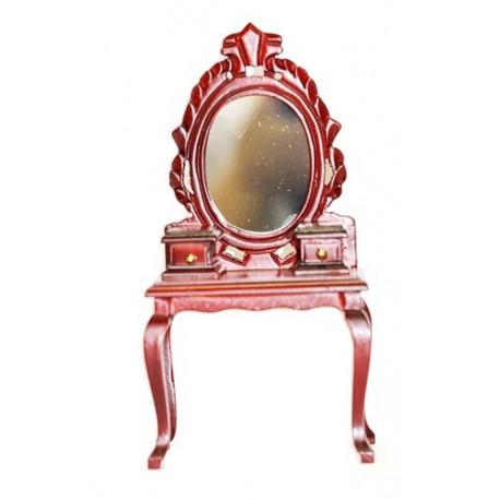 Трюмо с зеркалом, махагон Art of Mini