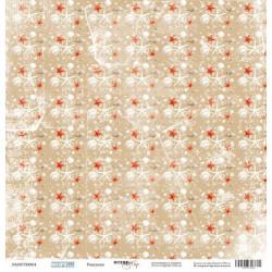Ракушки из коллекции Море, лист односторонней бумаги 30х30см, 190гр/м Scrapmir