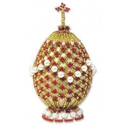 Яйцо пасхальное 2, набор для бисероплетения. Риолис