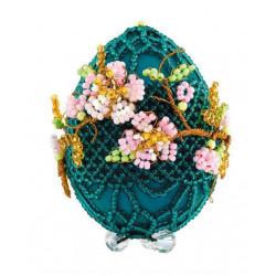 """Яйцо """"Цветущая ветвь"""", набор для бисероплетения. Риолис"""