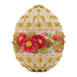 """Яйцо """"Примула"""", набор для бисероплетения. Риолис"""