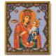 Иверская Богородица, набор для вышивания бисером 20х24см Радуга Бисера