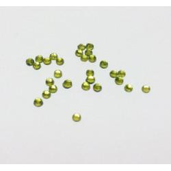 Оливковый, стразы клеевые 2.7 мм, акрил, 144 шт, Zlatka