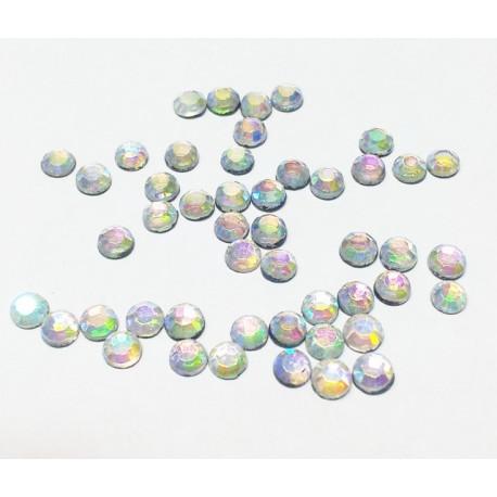Перламутр, стразы клеевые 3.1 мм, акрил, 144 шт, Zlatka