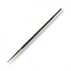 Кисть синтетика Декола круглая №0 (1,3мм) длина17,5см
