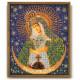 Остробрамская Богородица, набор для вышивания бисером 20х24см Радуга Бисера