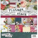 Vintage Collage, набор бумаги 48 односторонних листов, 30*30 см 230 гр/м