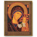 Казанская Богородица, набор для вышивания бисером 19х23см Радуга Бисера
