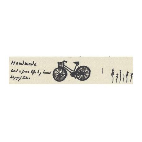 Счастливое время, черный, тесьма декоративная 16 мм с рисунком CLP-161 3м, GAMMA