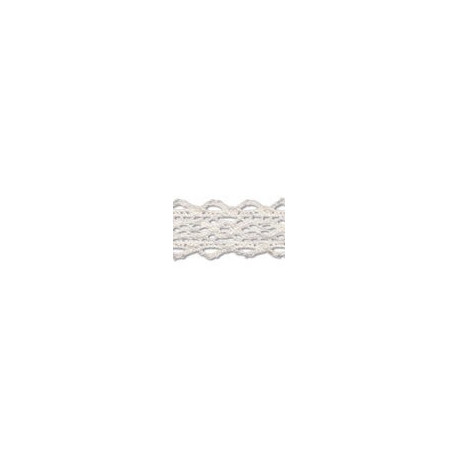 Белый, тесьма кружевная. 20мм, 3 м. GAMMA