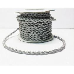 Под серебро, шнур витой 2,5мм, 1м, Gamma
