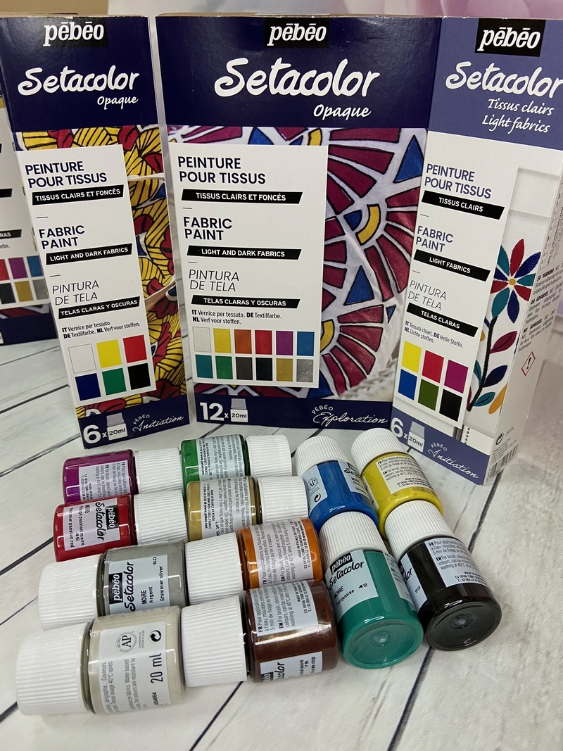 Набор краска по ткани Pebeo